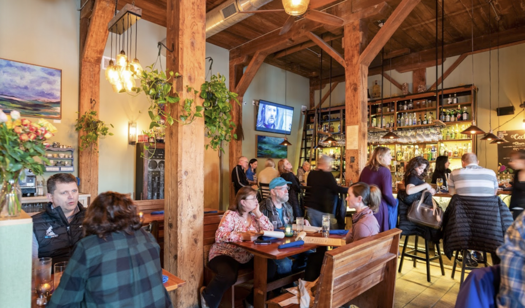 The Blue Rock Restaurant in Shelburne Falls